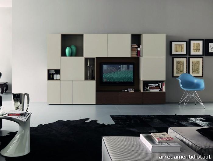Soggiorno mobili componibili ~ mattsole.com